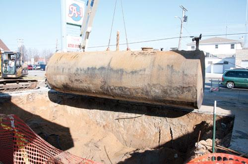 Storage Tank Demolition : Ethanol contamination in diesel fuel and accelerated